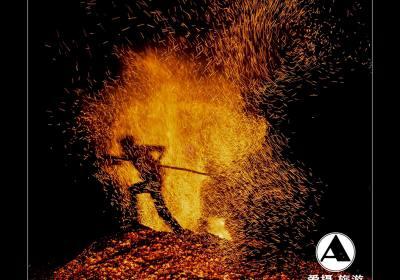 磐安炼火摄影采风团作品欣赏