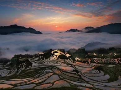 瓯江帆影、云和梯田3天2晚摄影采风团