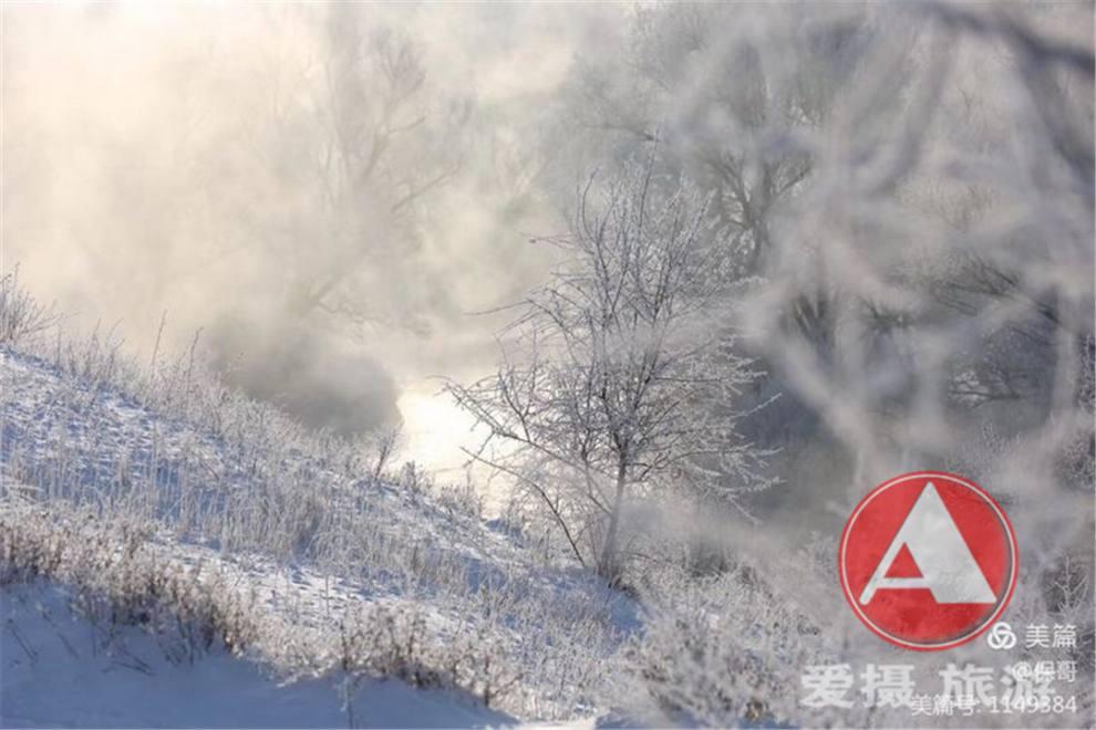 额尔齐斯河畔的雾凇03