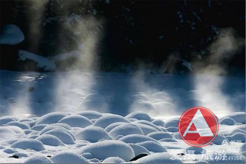 喀纳斯河谷雪蘑菇02