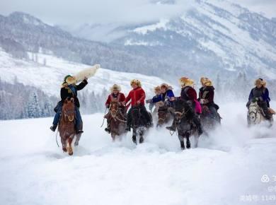 2020.12.12-12.21冬季喀纳斯·童话冰雪世界10天9晚摄影创作团